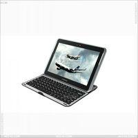 For Samsung Galaxy Note 10.1 N8000 Aluminum bluetooth keyboard case P-SAMN8000BTHKB001