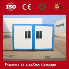 Modern quick installation durable mobile structural steel workshop with office inside