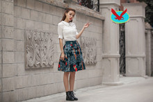Style restoring ancient ways cotton fluffy skirts