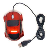 Novelty Wired Optical Mini Car Shape Mouse