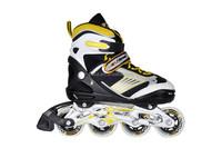 2015 brand new design inline skate ,adjustable inline skating shoes ,roller skate with 4 wheels