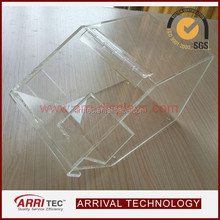 wholesale stackable plastic scoop clear acrylic store candy box for retail