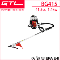 2 stroke garden tools float type Backpack gasoline brush cutter BG415