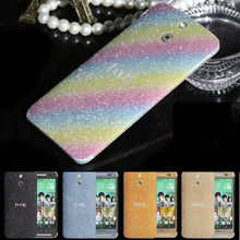 Whole Set Glitter Cell Phone Sticker for HTC M7,for HTC M8 Screen Protective Film,Screen Guards for HTC E8
