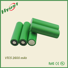 In stock 100% authentic 30a Discharge Vtc5 18650 Battery 2600mah Us18650vtc5 For Vtc5