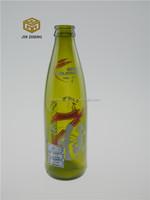 330ml green glass drinking bottle,glass bottle for juice drinking
