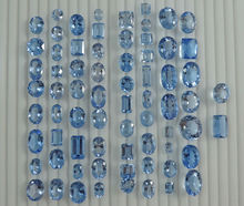 (IGC) Loose Aquamarine Gemstones Afghanistan for Sell