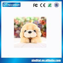 Custom design stuffed plush dog toys stuffed animal toys with sound
