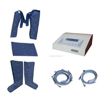 Pressure therapy lymphatic detoxing machine