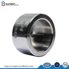cap socket welded end stainless steel pipe