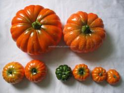 mini size artificial pumpkins