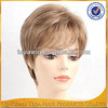 2015 new products short style blonde 100 kanekalon synthetic hair wig in israel