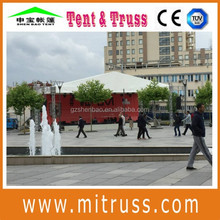 (290*290) aluminium square tuss, ligting stage spigot truss compatible with global truss