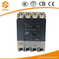 Hot selling low voltage protection MCCB 400a circuit breaker molded case