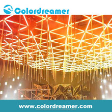 Colordreamer led curtain 16pixel dmx led 3d tube save power 40%for night club,stage,TV show