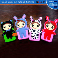 Lovely Little Doll 3D Silicone Case For iPhone 5G Back Cover Soft 3D Case