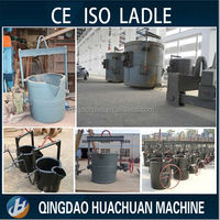 Cheap price high quality !!! Hot Metal Ladle Pouring Ladle For Foundry Bottom Pouring Ladle RFQ