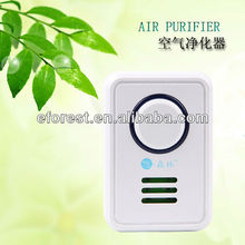 indoor air purifier with active oxygen negative ions