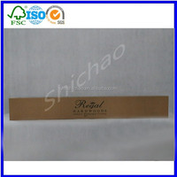wholesale CMYK PRINTED corrugated carton box for hardwood flooring packaging with PVC WINDOWS made in china