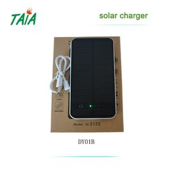 2015 Hotsell colorful best quality usb power bank solar charger with Carabiner