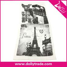 90 * 180 CM Hot vente personnalisé impression originale écharpe arabe