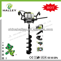 new year promotion NEWEST 52cc earth auger with anti-vibration system and 150mm bit for sale