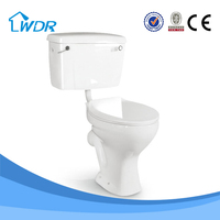 Best selling p-trap types of chinese porcelain bathroom small toilet bowl