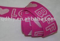 jacquard elastic strap
