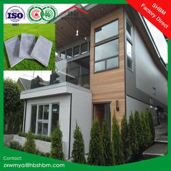 exterior cladding non-asbestos high strength facade fiber cement board