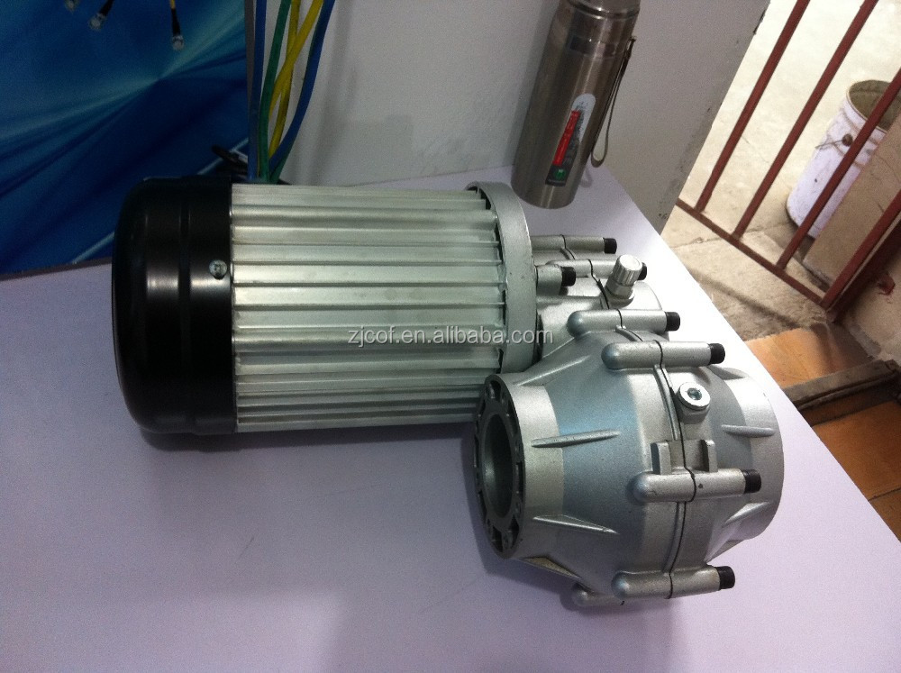 60v 72v Switch Reluctance Differential Motor For Electric