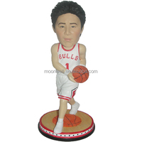 Custom bobblehead, customized from photo, creative personalized souvenir--Basketball 4, bobble head, miniyou, valentine gift