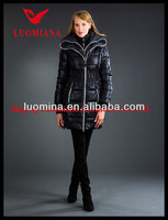 2013 Latest Real Fur Winter Fashion Women High Quality women office uniform style