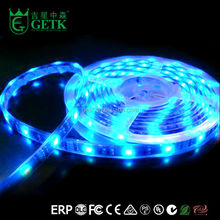 CE listed waterproof patent dream color 5M/10M 5050 rgb 8mm silicon casing 12v led cluster string lights