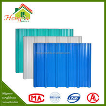 High quality with best price long term color stability upvc roofing shingle