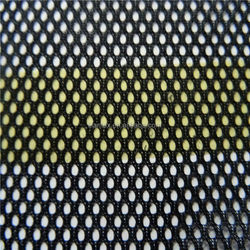 Black mesh cloth round hole mesh fabric for bags laundry bag special for baby bed