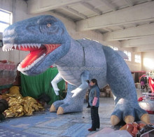2015 giant inflatable green dragon for outdoors promotion