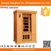 Traditional wooden sauna house outdoor