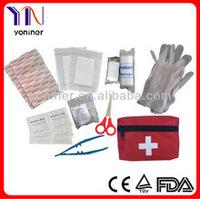 Car/travel/survival first aid kit