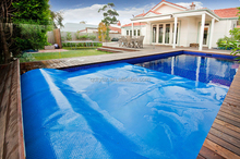 Blue PE Bubble Cover For Swimming Pool Cover with Edge Binding Waterproof Cover for Swimming Pool Solar Cover