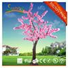1.8m high outdoor decorative cherry led tree light, garden decorative tree light