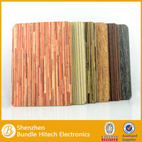 wood pattern stand cover for ipad air 2014 hot selling