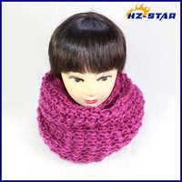 HZW-13674010 2015 Latest Style winter neck gaiter unisex Neck Warmer womens 2015 fashion 100% acrylic made new designs scarf