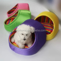Winter dog house fashion style soft cute pet house
