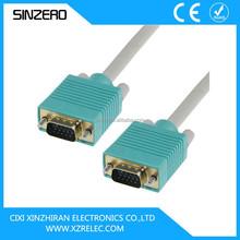 vga to coaxial cable/vga to rca cable/vga cable 30m
