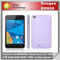 "DOOGEE VALENCIA 4.5"" DG800 Smart Phone MTK6582 Quad Core 1.3GHz"