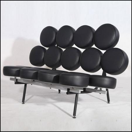 designer furniture replica red marshmallow sofa in italian leather