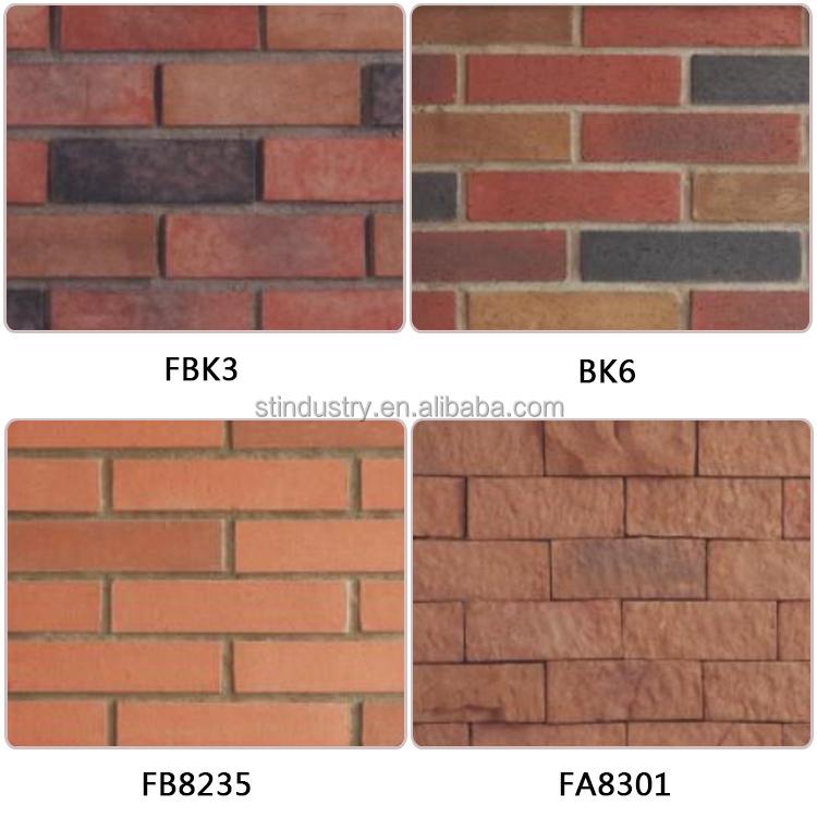 Fireproof Four Inch Masonry Brick Panel : Lowest price decorative fireproof exterior brick wall