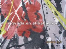 Fashion printed dress silk fabric