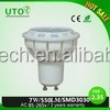 CE approval replace 50W halogen 7W GU10 LED Spotlight