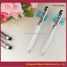 crystal pens for women, women's gift, white filled crystal pen for women